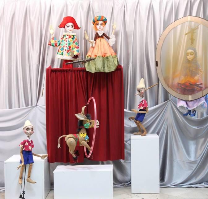 Куклы спектакля «Пиноккио». Dječije pozorište Republike Srpske, Copyright