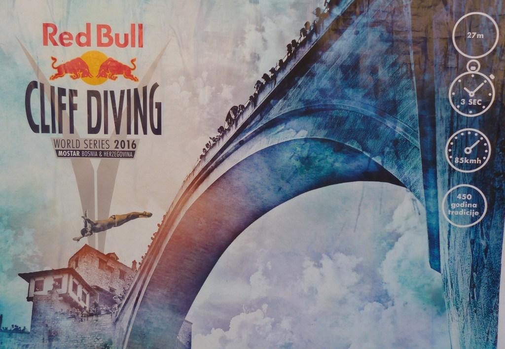Red Bull Cliff Diving в Мостаре
