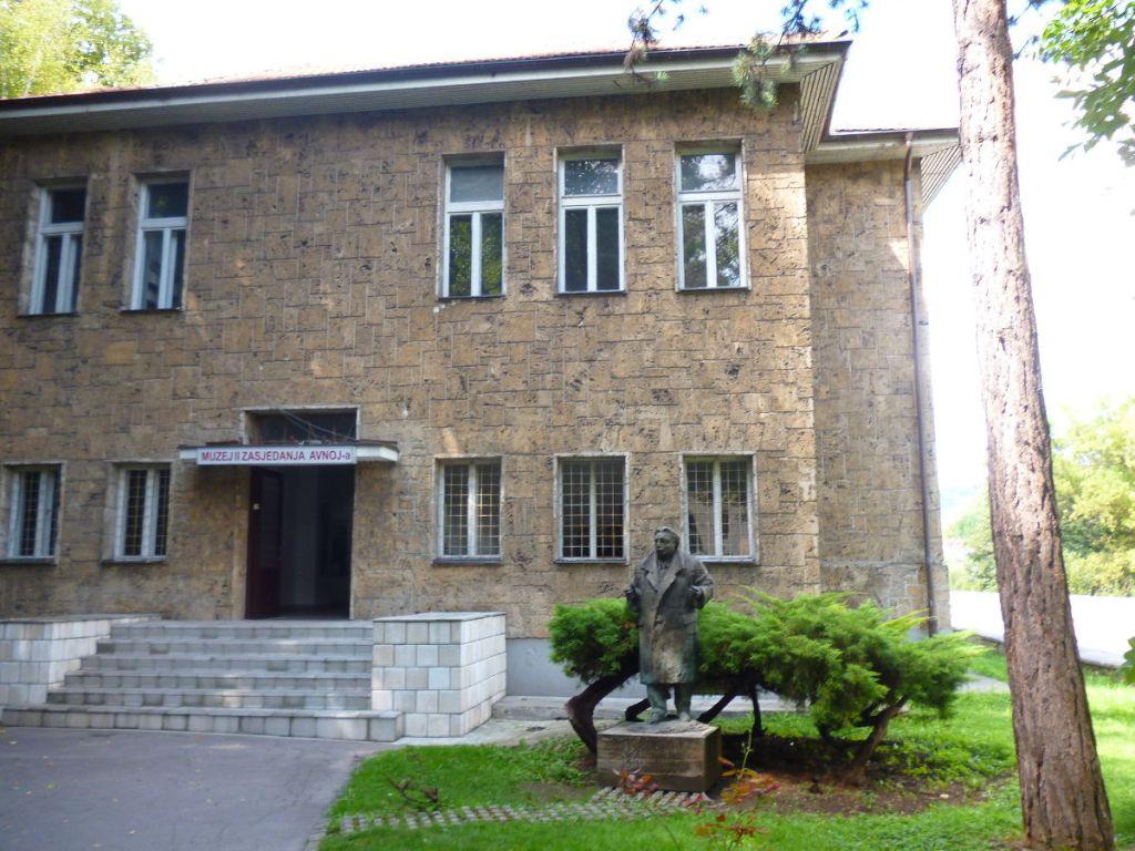 Музей II заседания AVNOJ в Яйце. Фото: Елена Арсениевич, CC BY-SA 3.0