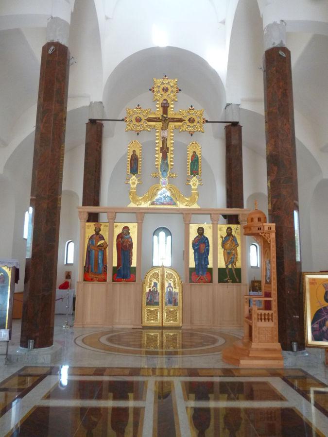 Интерьер церкви в Андричграде. Фото: Елена Арсениевич, CC BY-SA 3.0