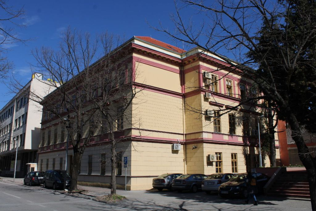 Здание суда в Мостаре. Фото: Елена Арсениевич, CC BY-SA 3.0