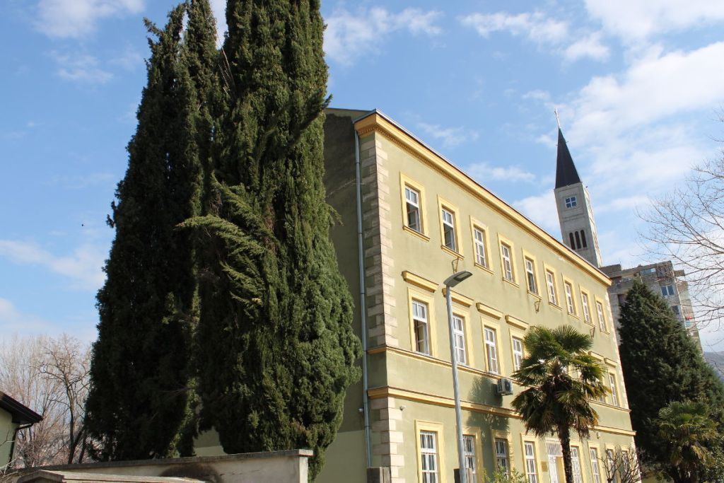 Школа сестёр милосердия в Мостаре. Фото: Елена Арсениевич, CC BY-SA 3.0