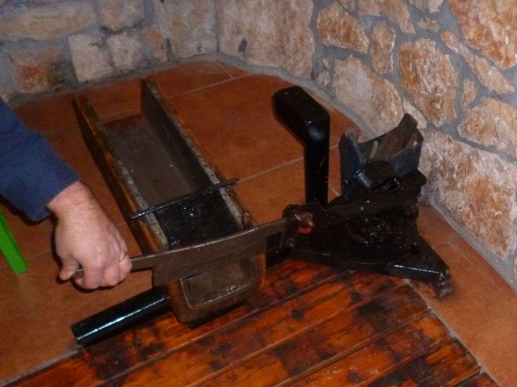 Машинка для резания табака. Фото: Елена Арсениевич, CC BY-SA 3.0