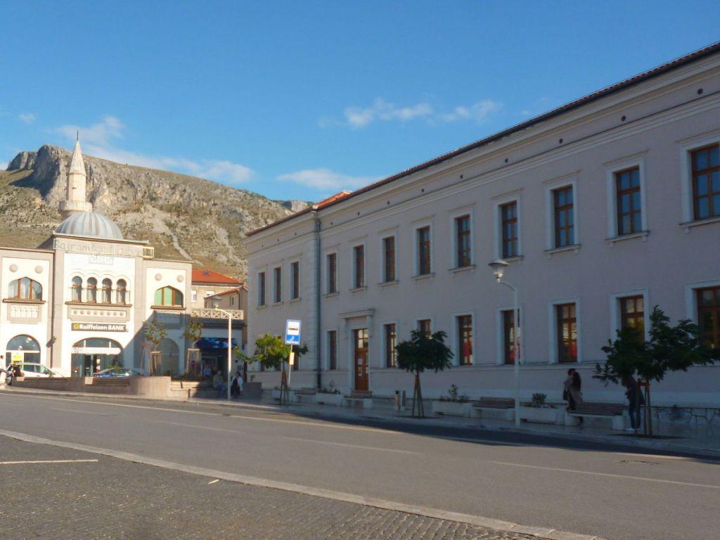 Здание музыкальной школы в Мостаре скоро будет общим для бошняков и хорватов. Фото: Елена Арсениевич, CC BY-SA 3.0