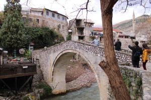 Мост Крива чуприя, слева была крепостная стена. Фото: Елена Арсениевич, CC BY-SA 3.0