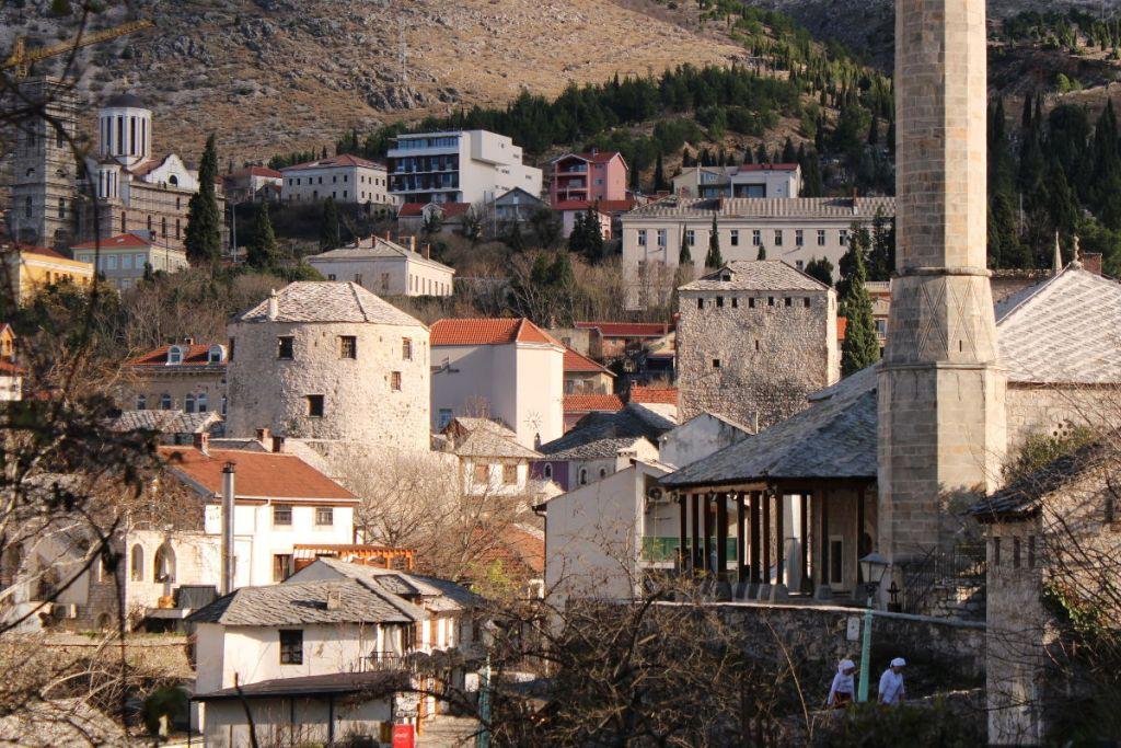 Исторический центр Мостара. Фото: Елена Арсениевич, CC BY-SA 3.0