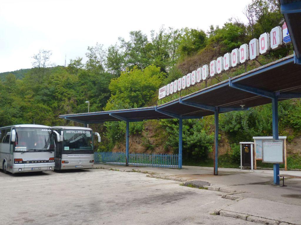 Автостанция Яйце. Фото: Елена Арсениевич, CC BY-SA 3.0