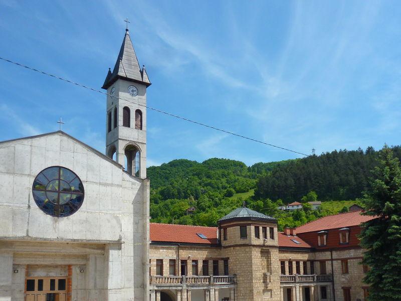 Монастырь св. Луки в Яйце. Фото: Елена Арсениевич, CC BY-SA 3.0