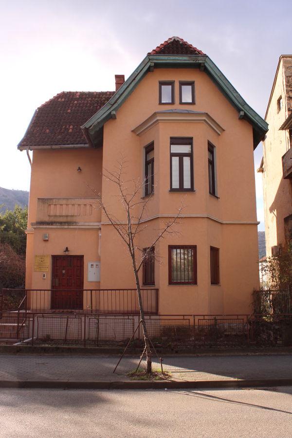 Вилла, стилизованная под охотничий домик. Фото: Елена Арсениевич, CC BY-SA 3.0