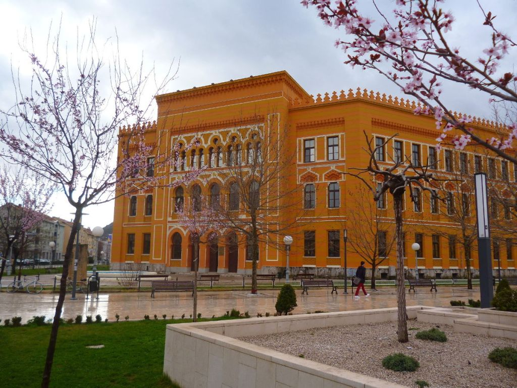 Мостарская гимназия. Фото: Елена Арсениевич, CC BY-SA 3.0