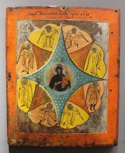 Богородица «Неопалимая купина», русский мастер, 18-й век. Фото: Елена Арсениевич, CC BY-SA 3.0