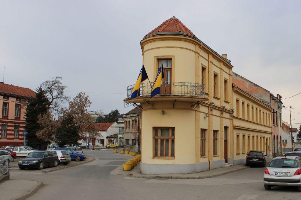 Отреставрированная часть дома «Ислахиет». Фото: Елена Арсениевич