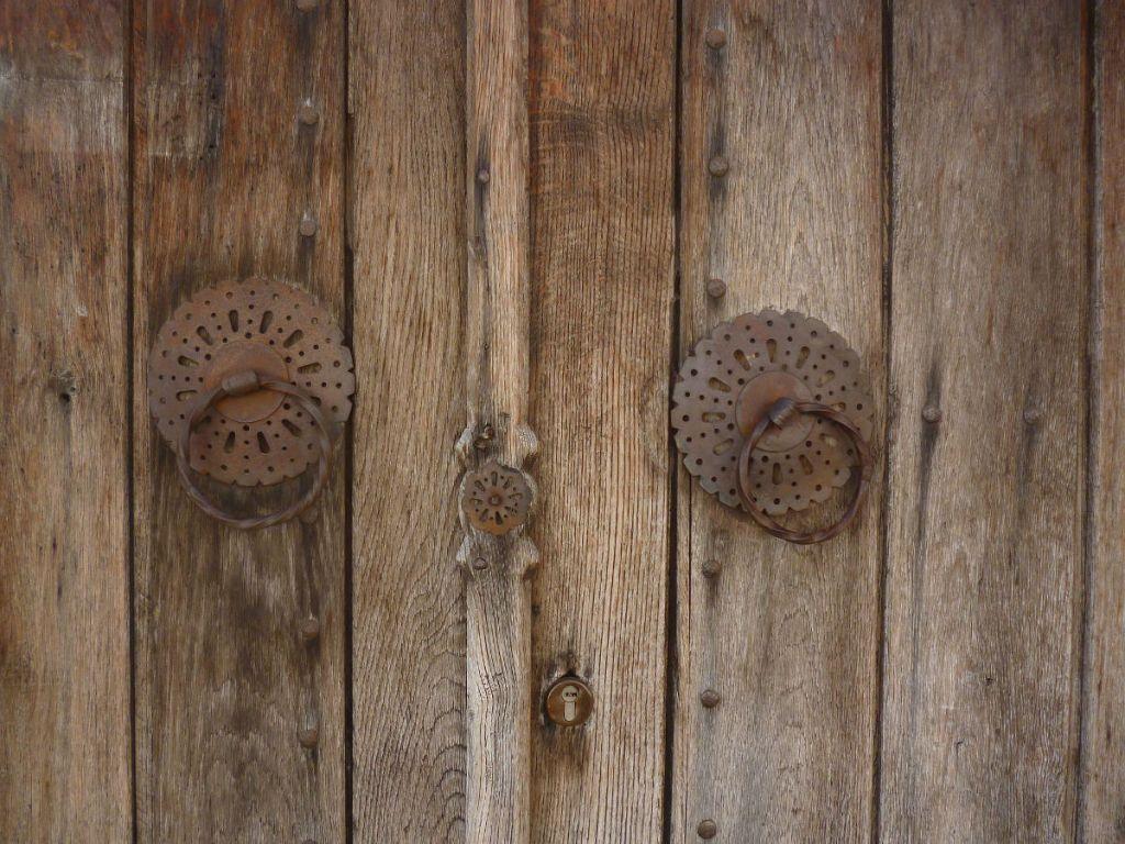 Халки на дверях текии. Фото: Елена Арсениевич, CC BY-SA 3.0