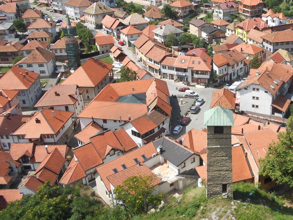 Тешань, вид сверху. Фото: Елена Арсениевич, CC BY-SA 3.0
