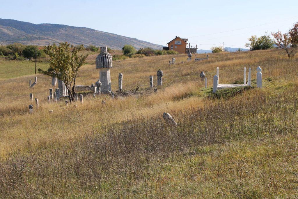 Кладбище семьи Башич на Гламочском поле. Фото: Елена Арсениевич, CC BY-SA 3.0