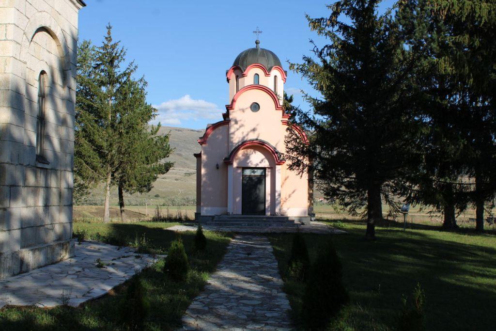 Крипта с останками Гламочских новомучеников. Фото: Елена Арсениевич, CC BY-SA 3.0