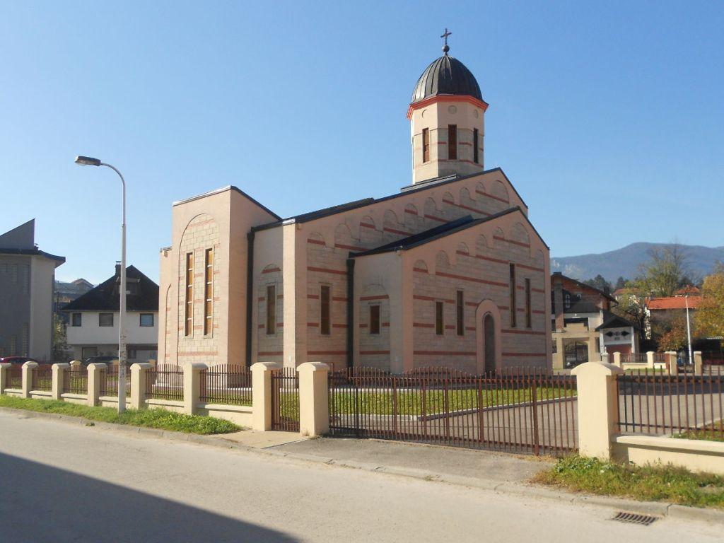 Православная церковь в Бихаче. Фото: Елена Арсениевич, CC BY-SA 3.0