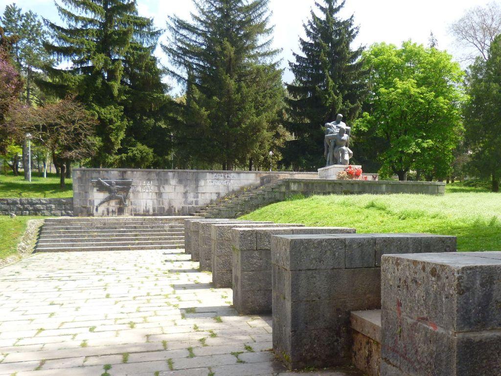 Памятник героям второй мировой войны. Фото: Елена Арсениевич, CC BY-SA 3.0