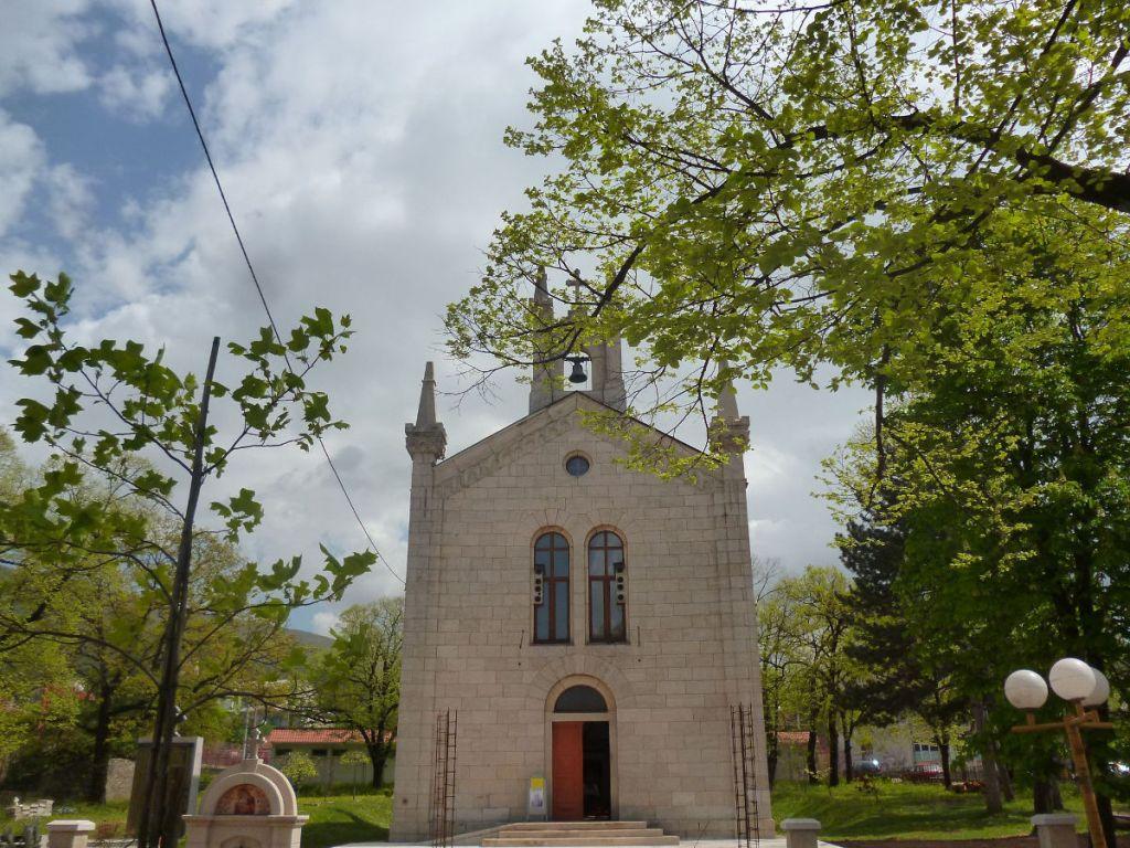 Церковь св. Саввы. Фото: Елена Арсениевич, CC BY-SA 3.0