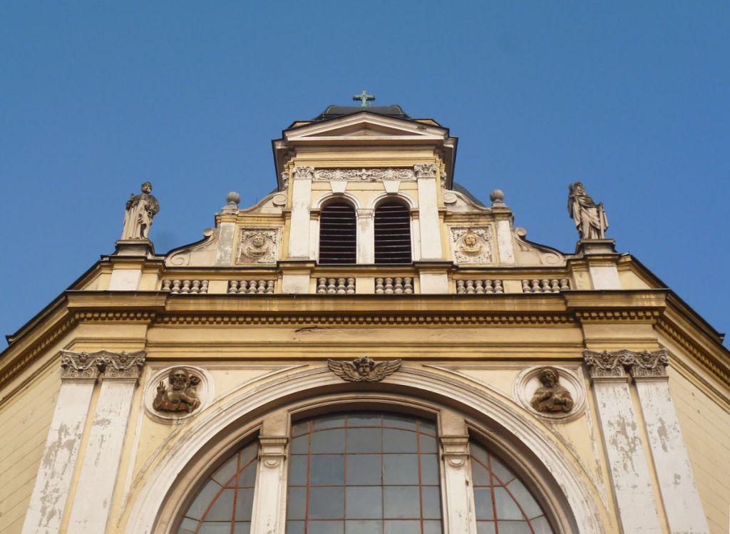 Фасад церкви. Фото: Елена Арсениевич, CC BY-SA 3.0