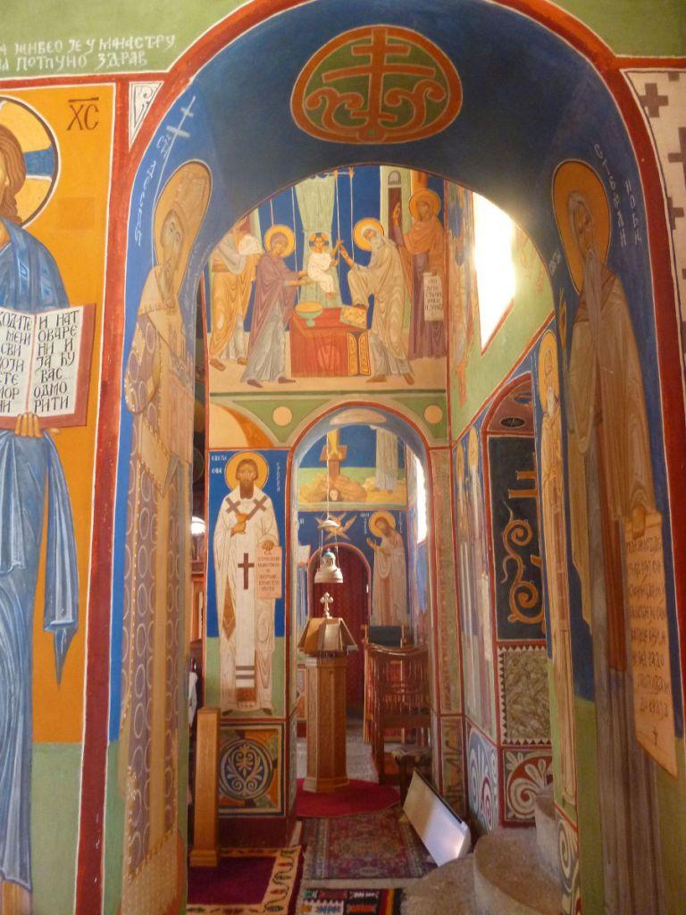 Росписи церкви. Фото: Елена Арсениевич, CC BY-SA 3.0