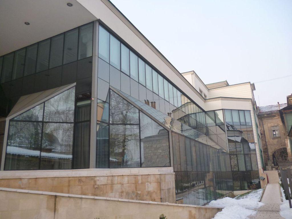 Библиотека Гази Хусрев-бега в Сараево. Фото: Елена Арсениевич, CC BY-SA 3.0