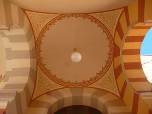 Купол над крыльцом. Фото: Елена Арсениевич, CC BY-SA 3.0