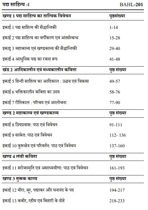 BA Second Year Hindi Books by UOU