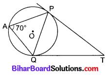 Bihar Board Class 10 Maths Solutions Chapter 10 वृत्त Additional Questions MCQ 7