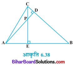 Bihar Board Class 10 Maths Solutions Chapter 6 त्रिभुज Ex 6.3 Q7