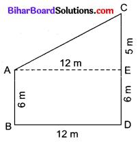 Bihar Board Class 10 Maths Solutions Chapter 6 त्रिभुज Ex 6.5 Q12