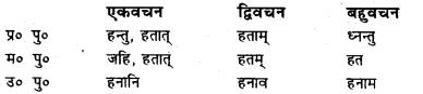 Bihar Board Class 7 Sanskrit व्याकरण धातु-रूपाणि 33