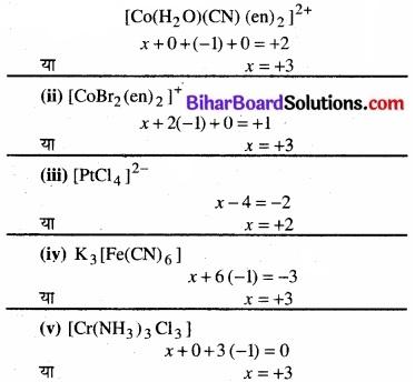 BIhar Board Class 12 Chemistry Chapter 9 उपसहसंयोजन यौगिक img 13