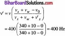 Bihar Board Class 11 Physics Chapter 15 तरंगें