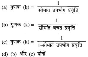 Bihar Board 12th Economics Objective Important Questions Part 5, 5