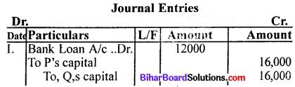 Bihar Board 12th Accountancy Model Question Paper 1 in English Medium Q31