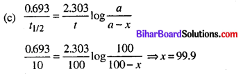 Bihar Board 12th Chemistry Objective Answers Chapter 4 रासायनिक बलगतिकी 3
