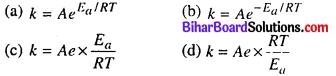 Bihar Board 12th Chemistry Objective Answers Chapter 4 रासायनिक बलगतिकी 8