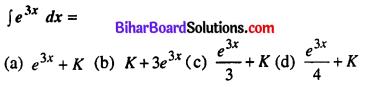 Bihar Board 12th Maths Model Question Paper 1 in Hindi Medium MCQ Q27