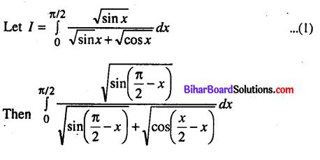 Bihar Board 12th Maths Model Question Paper 2 in English Medium - 22