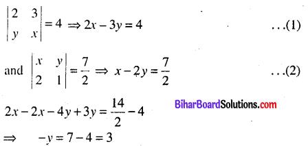 Bihar Board 12th Maths Model Question Paper 3 in English Medium - 11