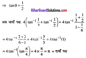 Bihar Board 12th Maths Model Question Paper 3 in Hindi SAQ Q2.1