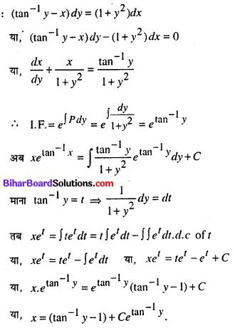 Bihar Board 12th Maths Model Question Paper 4 in Hindi SAQ Q15