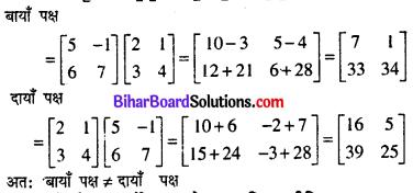 Bihar Board 12th Maths Model Question Paper 4 in Hindi SAQ Q5.1