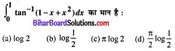 Bihar Board 12th Maths Model Question Paper 5 in Hindi MCQ Q28