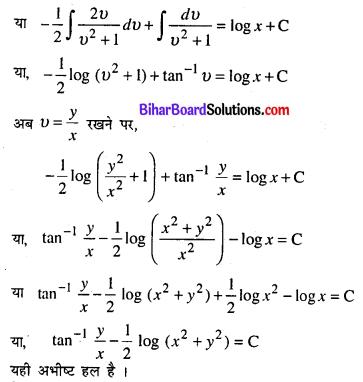 Bihar Board 12th Maths Model Question Paper 5 in Hindi SAQ Q15.1