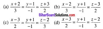 Bihar Board 12th Maths Objective Answers Chapter 11 त्रि-विमीय ज्यामिति Q43