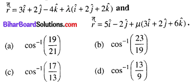 Bihar Board 12th Maths Objective Answers Chapter 11 Three Dimensional Geometry Q29