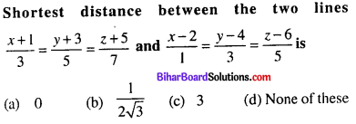 Bihar Board 12th Maths Objective Answers Chapter 11 Three Dimensional Geometry Q41