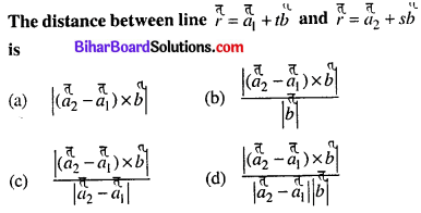 Bihar Board 12th Maths Objective Answers Chapter 11 Three Dimensional Geometry Q42